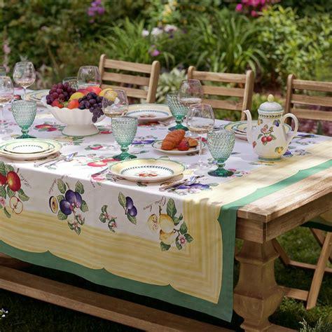 Villeroy And Boch Garden Cork Placemats by Villeroy Boch Garden 68 In W X 96 In L Fabric