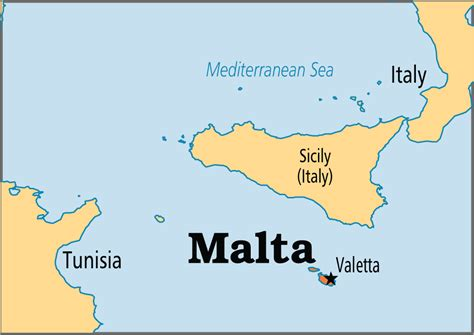 malta on a world map malta operation world