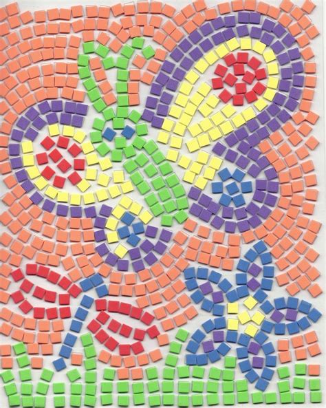 mosaic pattern names butterfly mosaic by kellyyllek2 on deviantart