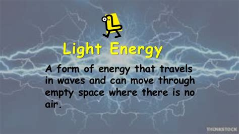 Light Is A Form Of What Energy Forms Of Energy Ppt 3
