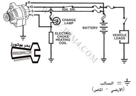 فحص واصلاح المولد الكهربائي لسيارة كامري تويوتا 2000