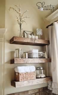 Diy floating shelves reclaimed wood woodguides
