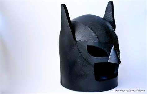 How to make a lego batman helmet simple practical beautiful