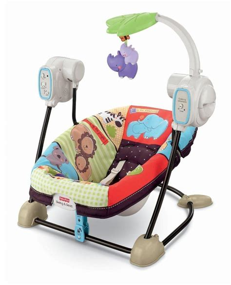 fisher price deluxe take along swing fisher price spacesaver swing seat animals deluxe take
