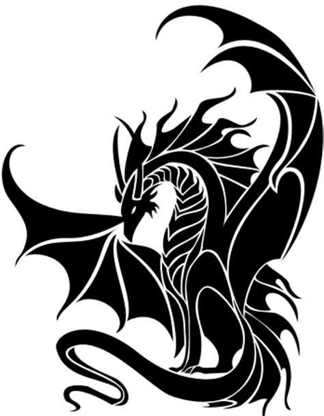 tattoo dragon logo new tribal dragon by tribalchick101 on deviantart artg