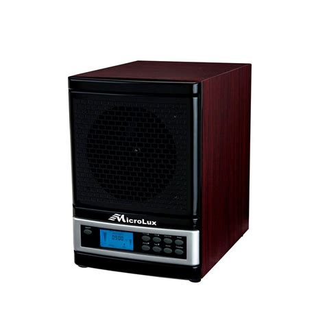 microlux ml4000d air purifier pro uv hepa carbon ionic