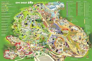 San Diego Zoo Map by The Gallery For Gt San Diego Zoo Map