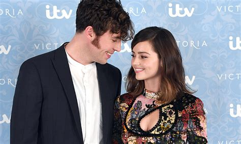 tom hughes jenna jenna coleman and tom hughes to return for victoria second
