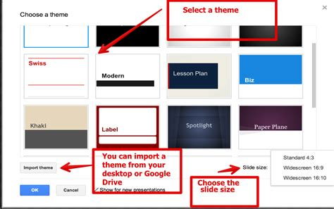 themes on google slides app 9 simple steps to create a good presentation using google