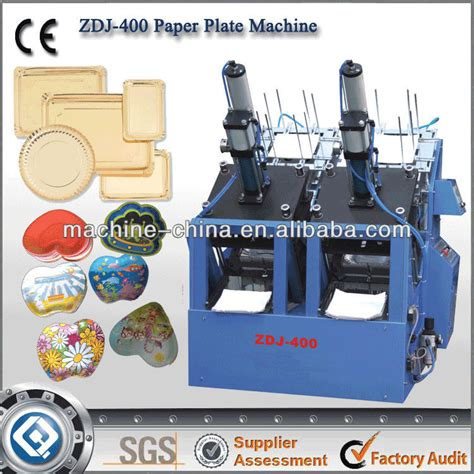 Paper Plate Machine Price - zdj 400 paper plate machine paper plate machine