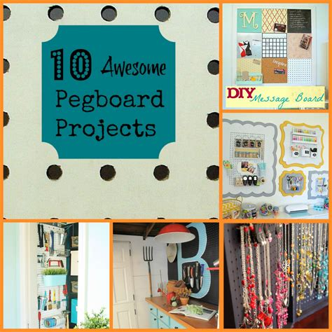 pegboard ideas 10 awesome pegboard projects organize and decorate
