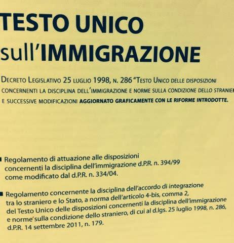 testo sull immigrazione guida per il permesso soggiorno testo unico immigrazione