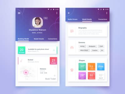 app design view talent portal app by rifayet uday dribbble