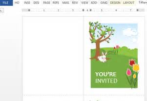 Beautiful Invitation Templates by Invitation Template For Word