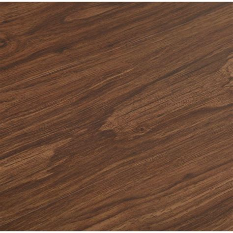 trafficmaster allure 6 in x 36 in dark walnut luxury vinyl plank flooring 24 sq ft case
