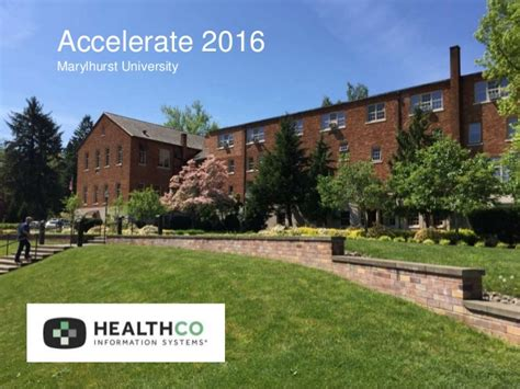 Marylhurst Mba Healthcare by Healthco Accelerate 2016 Speakers Deck 1
