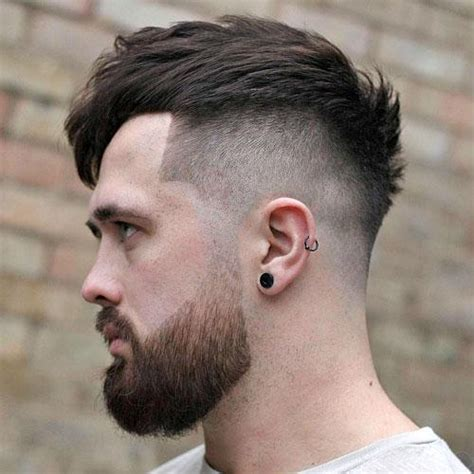 hairstyles high fade with beard 11 cool men s hairstyles 2018 best haircuts for men