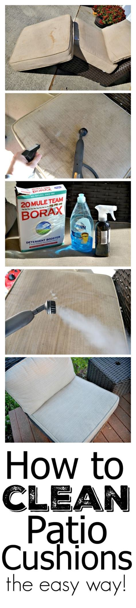 best way to clean couch cushions 25 best ideas about cleaning outdoor cushions on