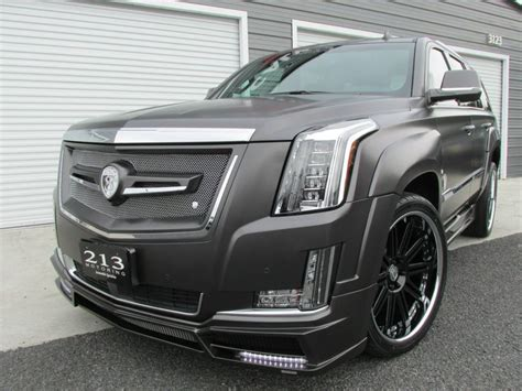customized cadillac customized 2015 cadillac escalade by strut gallery