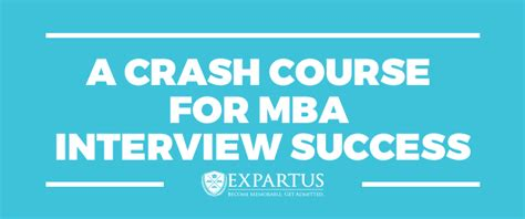 Course Free For Mba by Expartus Mba Consulting A Crash Course For Mba