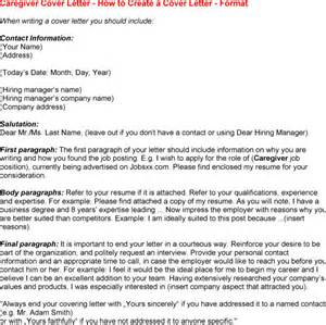cover letter for a caregiver sle cover letter for caregiver experience resumes