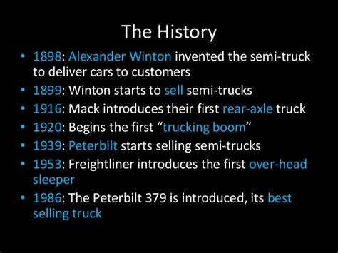18 wheeler facts