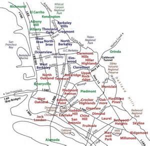 east bay neighborhood guide and map