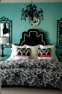 turquoise black and white bedroom ideas home decorating