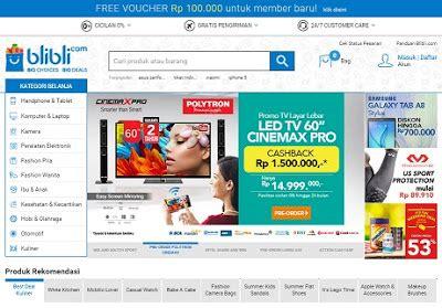 blibli bayar di tempat mau tempat belanja online dengan produk terlengkap ya di