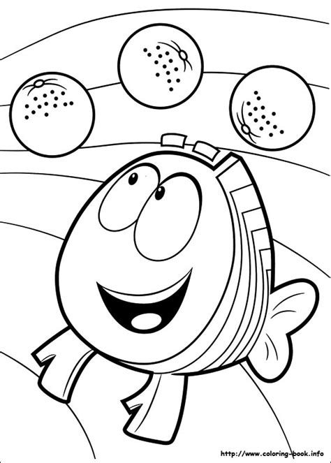 bubble guppies coloring pages bubble guppies mr grouper coloring pages