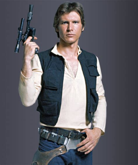 star wars   hope harrison ford han solo vest
