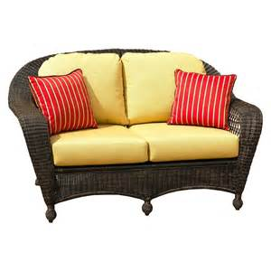 outdoor wicker settee cushions image gallery settee cushions