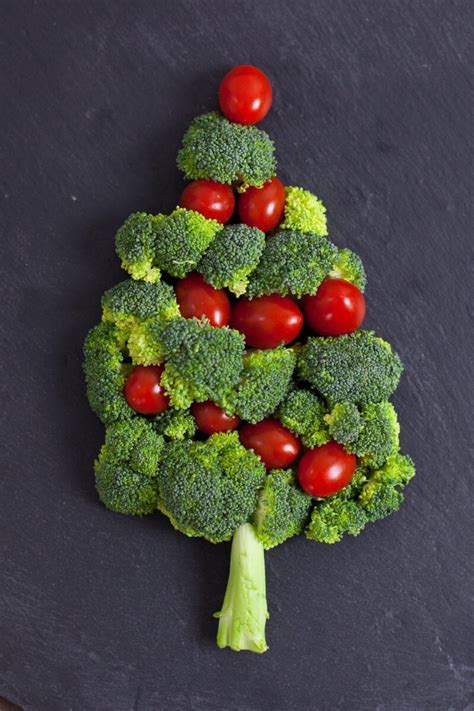 easy christmas snacks that look like christmas trees