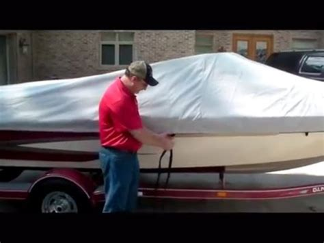 how to install a boat cover boat covers how to install a westland mooring cover youtube