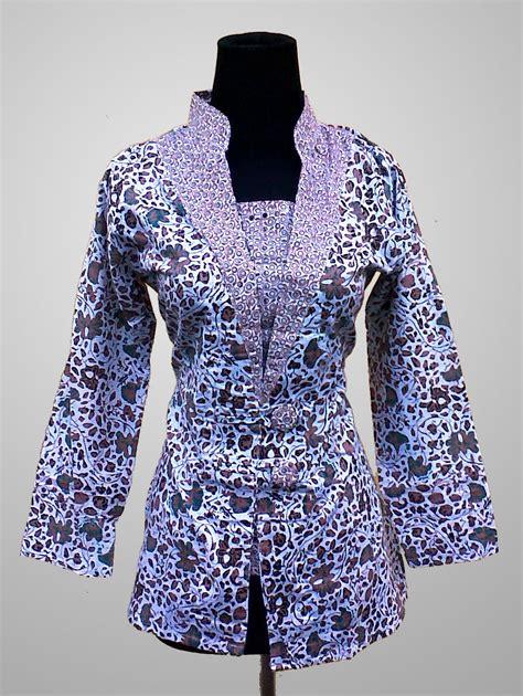 Batik Blus by 13 Model Blus Kombinasi Batik Modern Terbaik 2018