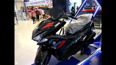 Yamaha Aerox 155 Vva Standart Black Bogor 1 new yamaha aerox 155 vva 2017 black colour