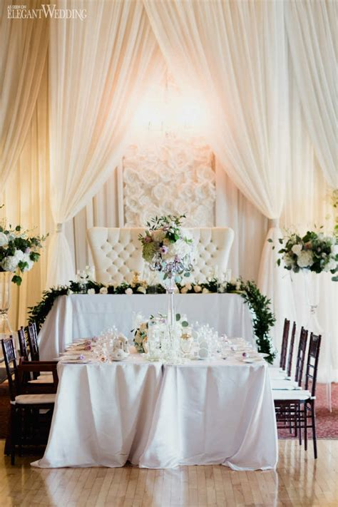 silver and white wedding theme elegantwedding ca