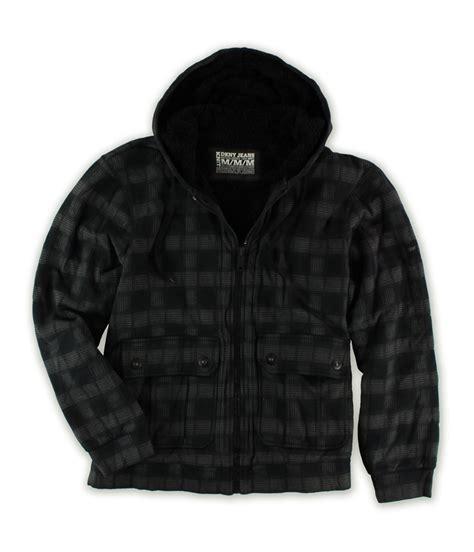 Hoodie Zipper Dkny dkny mens plaid zip hooded hoodie sweatshirt 979 m ebay
