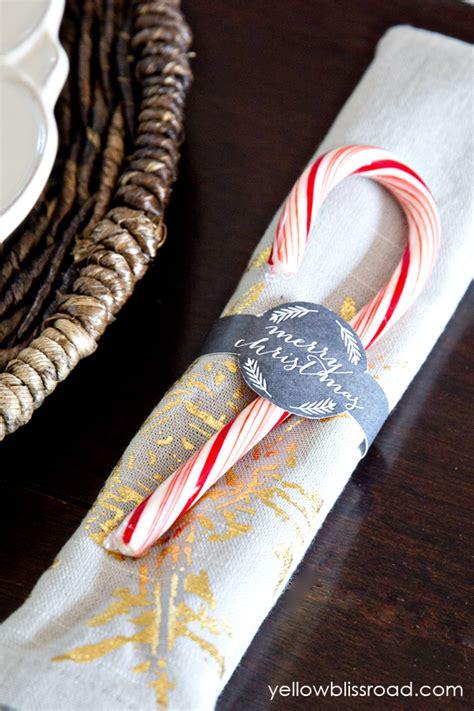 printable christmas napkin rings free printable chalkboard napkin rings