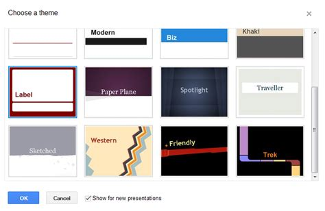 themes on google slides app how to enhance your presentations with the new google docs