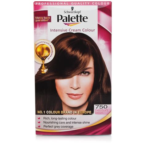 Schwarzkopf Palette Intensive Color schwarzkopf palette intensive color 750 chocolate