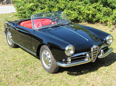 1959 Alfa Romeo Giulietta Spider by 1959 Alfa Romeo Giulietta Spider Veloce Vintage Motors