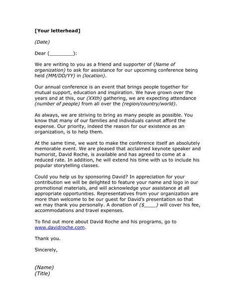 Support Event Letter charity letter ks2 28 images charity fundraising
