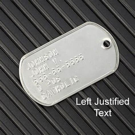 Jv Set Kutubaru Green Fit 1 2 Thun tags used by army soldiers