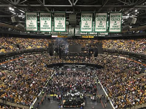 Td Garden Concerts by Td Garden Section 308 Concert Seating Rateyourseats