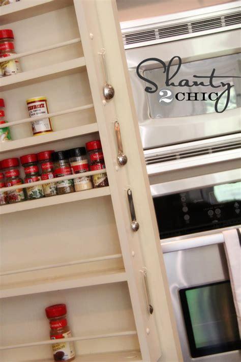 hometalk diy pantry door spice rack