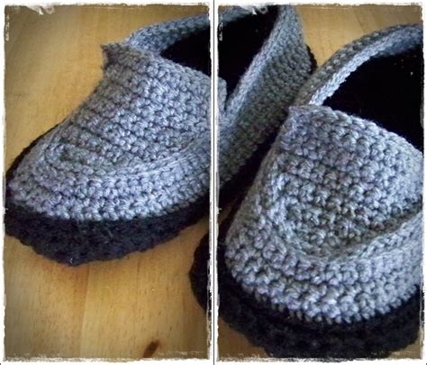 crochet pattern mens house slippers crochet mens house shoes free pattern dancox for