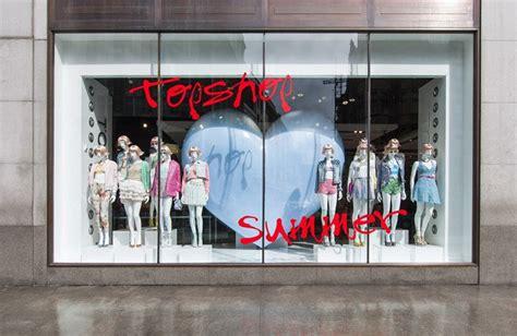 window fixtures topshop summer windows by crm visual merchandising of