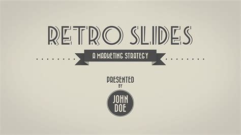 powerpoint templates free retro retro slides keynote powerpoint template full hd on