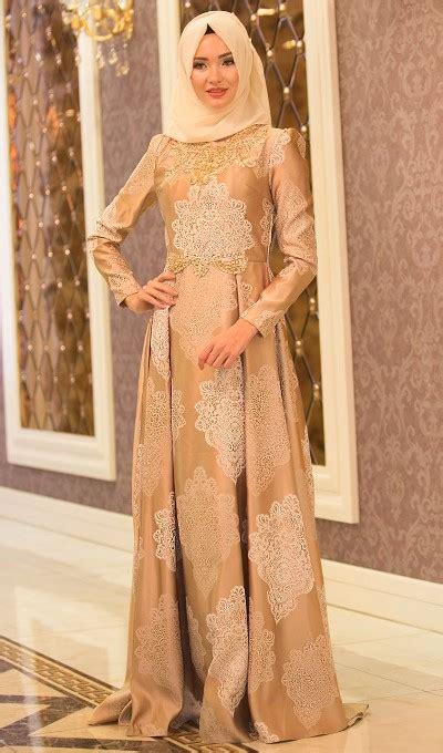 Model Baju Gamis U Pesta 50 model baju brokat muslim dari dress gamis hingga